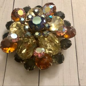 Jewelry - Vintage Brooch Pin with Stones